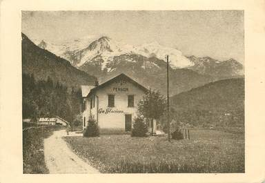 """CPA FRANCE 74 """"Servoz, pension de famille Les Glaciers"""""""