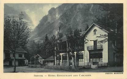 "CPA FRANCE 74 ""Servoz, Hotel restaurant les Cascades"""