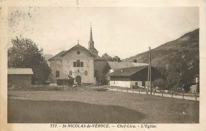 """CPA FRANCE 74 """"Saint Nicolas de Véroce"""""""