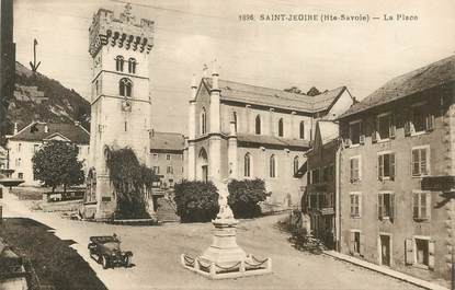 "CPA FRANCE 74 ""Saint Jeoire en Faucigny"""