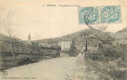 """CPA FRANCE 26 """"Propiac, vue générale du village"""""""