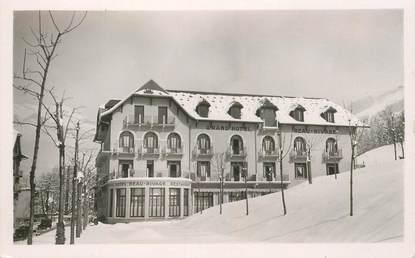 """CPSM FRANCE 74 """"Saint Gervais les Bains, Le Grand Hotel Beau Rivage sous la neige"""""""