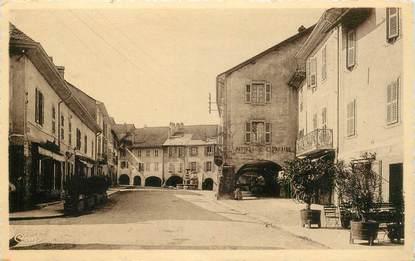 """CPA FRANCE 74 """"Rumilly, Place de l'Hotel de ville"""""""