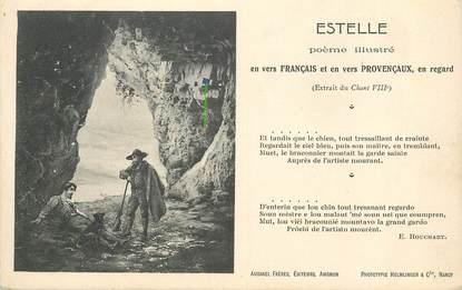 """CPA FRANCE 13 """" Estelle,  poème illustré """""""
