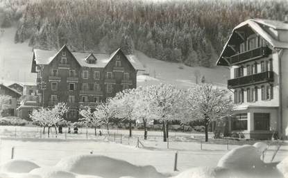"CPSM FRANCE 74 ""Morzine, Hotel Edelweiss"""