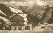 "74 Haute Savoie CPA FRANCE 74 ""Morzine, Hotel Pension du Rond Point"""
