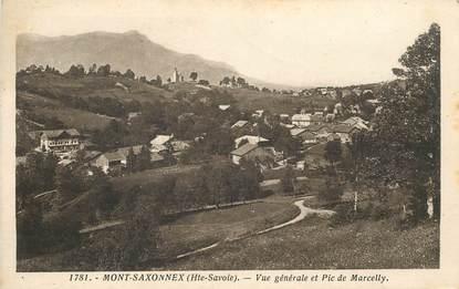 """CPA FRANCE 74 """"Mont Saxonnex"""""""