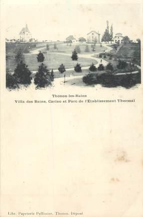 """CPA FRANCE 74 """"Thonon les Bains, Villa des Bains"""""""