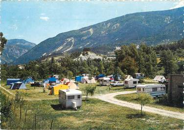 """CPSM FRANCE 04 """"Annot, camping municipal"""""""
