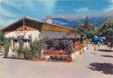 """CPSM FRANCE 04 """"Barcelonette, camping caravining du Plan"""""""