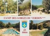 """04 Alpe De Haute Provence CPSM FRANCE 04 """"Castellane, Camping des Gorges du Verdon, Clos d'Aremus"""""""