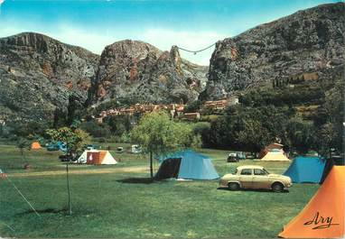"""CPSM FRANCE 04 """"Moustiers Sainte Marie"""" / CAMPING"""