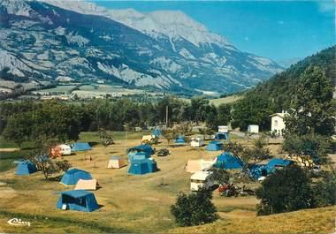 """CPSM FRANCE 04 """"Barcelonnette, la camping de la Chaux"""""""
