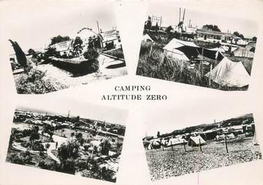 """CPSM FRANCE 06 """"Villeneuve Loubet, camping altitude zéro"""""""