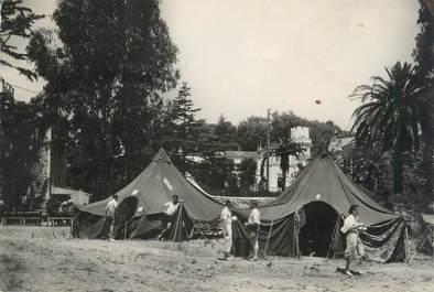 "CPSM FRANCE 06 ""Cannes La Bocca, Camp Volant"" / CAMPING"