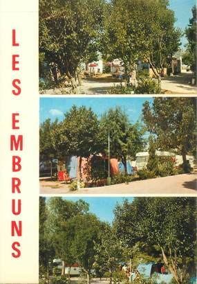 """CPSM FRANCE 06 """"Antibes, Camping les Embruns"""""""