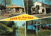 "06 Alpe Maritime CPSM FRANCE 06 ""Antibes La Brague, camp du Pylone"" / CAMPING"