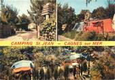"06 Alpe Maritime CPSM FRANCE 06 ""Cagnes sur Mer, camping Saint Jean"""