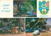 """06 Alpe Maritime CPSM FRANCE 06 """"Mandelieu, camp de la Plage"""" / CAMPING"""