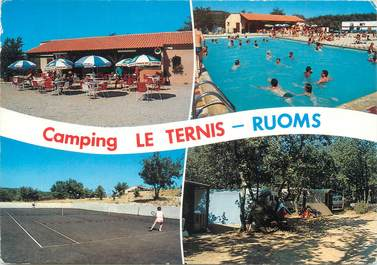 """CPSM FRANCE 07 """"Ruoms, camping Le Ternis"""""""