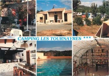 """CPSM FRANCE 07 """"Casteljau, camping Les Tournayres"""""""