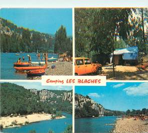 """CPSM FRANCE 07 """"Casteljau, camping Les Blaches"""""""
