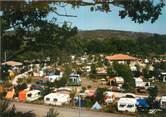 """07 Ardeche CPSM FRANCE 07 """"Vogues, camping du domaine du Cros d'Auzon"""""""