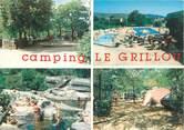 "07 Ardeche CPSM FRANCE 07 ""Joyeuse, Camping Le Grillou"""