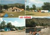 """07 Ardeche CPSM FRANCE 07 """"Les Vans, camping Les Chênes"""""""