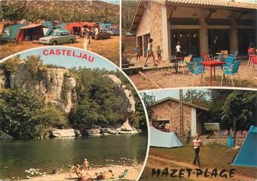 """CPSM FRANCE 07 """"Mazet plage, Casteljau"""""""