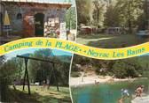 """07 Ardeche CPSM FRANCE 07 """"Neyrac Les Bains, camping de la plage"""""""