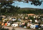 """07 Ardeche CPSM FRANCE 07 """"Vogues, camping du domaine du Cros d'Auzon """""""