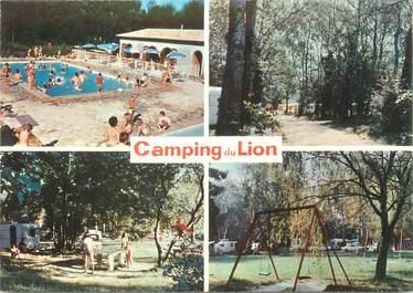 "CPSM FRANCE 07 ""Bourg Saint Andeol, camping du Lion """