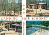 "07 Ardeche CPSM FRANCE 07 ""Joyeuse, camping Bois Simonet"""