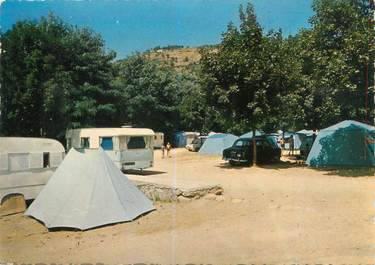 "CPSM FRANCE 07 ""Vals Les Bains, le camping"""