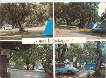 "CPSM FRANCE 07 ""Privas, camping la Chataigneraie"""