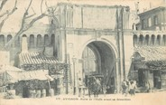 """84 Vaucluse / CPA FRANCE 84 """"Avignon, porte de l'Oulle avant sa démolition"""""""