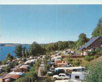"""CPSM FRANCE 12 """"Salles Curan, camping Beau Rivage"""""""
