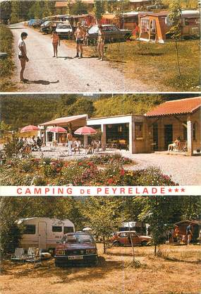 "CPSM FRANCE 12 ""Rivière sur Tarn, Camping de Peyrelade"""