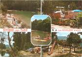 "12 Aveyron CPSM FRANCE 12 ""Rivière sur Tarn, Camping Les Peupliers"""