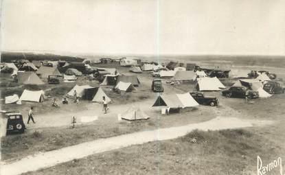 """CPSM FRANCE 14 """"Franceville, le camping sur les Dunes"""""""