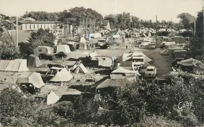 """CPSM FRANCE 14 """"Cabourg, camping de la plage"""""""
