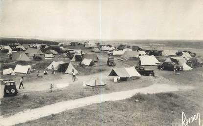 """CPSM FRANCE 14 """"Franceville, le camping sur les Dunes """""""