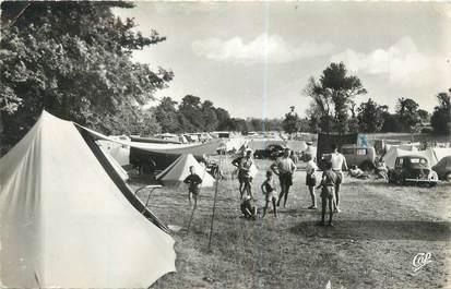 "CPSM FRANCE 14 ""Luc sur Mer, le camping"""