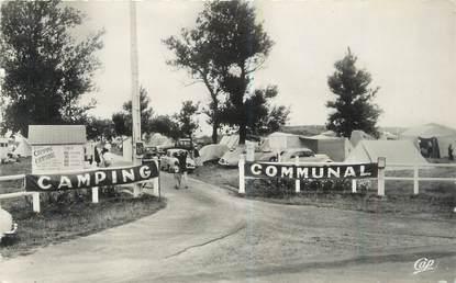 """CPSM FRANCE 14 """"Franceville, entrée du camping communal"""""""