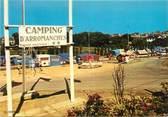 "14 Calvado CPSM FRANCE 14 ""Arromanches, le camping"""