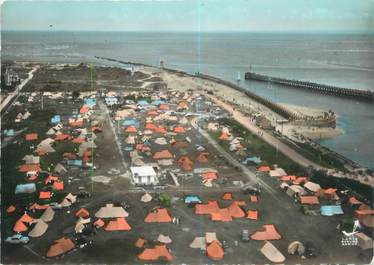 """CPSM FRANCE 14 """"Ouistreham Riva Bella, le camping"""""""