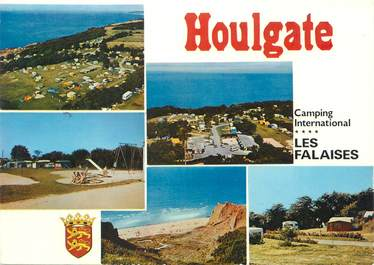 "CPSM FRANCE 14 ""Houlgate, camping Les Falaises"""
