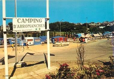 "CPSM FRANCE 14 ""Arromanches, le camping """