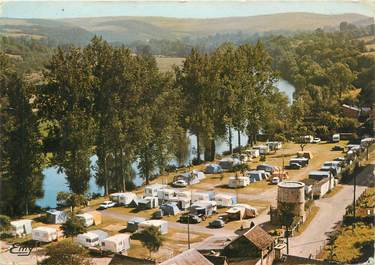 """CPSM FRANCE 14 """"Thury Harcourt, camping au bord de l'Orne"""""""